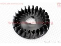 Крыльчатка охлаждения обмоток статора (вентилятор) Ø215мм 5-6кВт