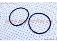 Кольцо (манжет) уплотнительное гильзы к-кт 2шт R195NM