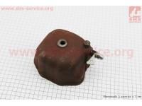 Крышка головки цилиндра (клапанов), чугунная R190N Тип №1 [Китай]