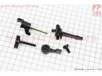 Рычаги карбюратора пластмассовые к-кт 168F/170F [Китай]
