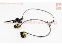 JS250ATV-3 - Тормозная система передняя в сборе [Китай]