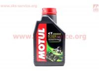 4T-5100 Technosynthese 10W-50 масло для мотоциклетных двигателей, полусинтетическое, 1л [MOTUL]