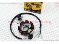 Статор магнето (генератора) 8 катушек (3 болта) [TMMP]
