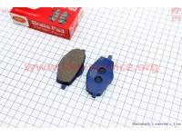 Тормозные колодки (дисковые) Zhongyu ZY-125 [YOG]