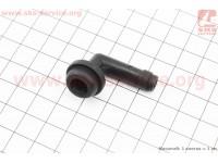 Штуцер (переходник) пластиковый цилиндра тормозного заднего (для 501026) [Китай]