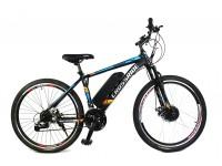 Электровелосипед Spider Man 26 колесо 36В 350Вт 13Ач на LCD дисплей литий ионный аккумулятор