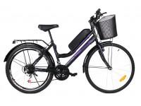 Электровелосипед A1 Mustang Woman 26 колесо 36В 350Вт 8Ач литий ионный аккумулятор