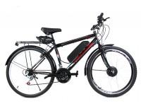 Электровелосипед A11 Mustang Man 26 колесо 36В 350Вт 13Ач литий ионный аккумулятор