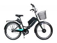 Электровелосипед складной Formula SMART черный 24 колесо 36В 350Вт 13Ач литий ионный аккумулятор