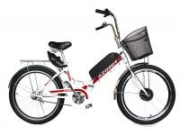Электровелосипед складной Formula SMART 24 колесо 36В 350Вт 10Ач литий ионный аккумулятор