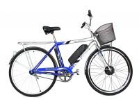 Электровелосипед Салют 28 колесо 36В 350Вт 10Ач литий ионный аккумулятор