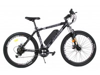 Электровелосипед KALIBER 26 колесо 36В 350Вт 10Ач с LCD пультом управления черный