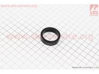 Кольцо вилки  1-1/8 - h10мм, черное [Neco]