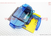 Мойка цепи разборная с ручкой, 4 чистящих ролика, большая синяя SBT-791