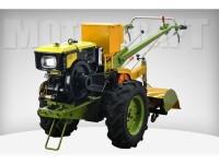 Мотоблок дизельный Добрыня 8.8 л.с. МТ81Е электростартер SH