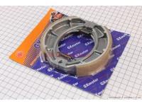 Тормозные колодки задние (литое колесо) d125мм