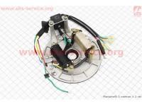 Статор магнето (на 2 катушки) тип.2 (на бесстартерный двигатель)