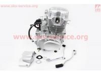 Двигатель мотоциклетный в сборе CG-150cc