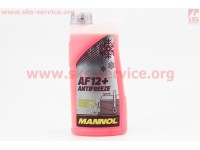 АНТИФРИЗ AF12 -40 красный, 1л [MANNOL]