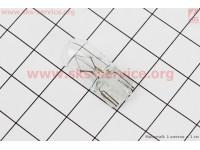 Лампа поворота (белая без цоколя) 12V/3W T10 [Китай]