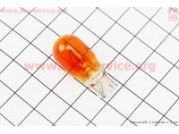 Лампа поворота (желтая без цоколя) 12V/10W Т13 [Китай]