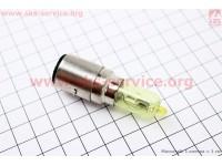 Лампа фары H6 BA20D 12V 35/35W хамелеон [Китай]