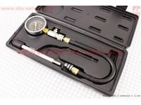 Компрессометр - комплект для измерения компрессии в цилиндре GY6/JH/CG/CB