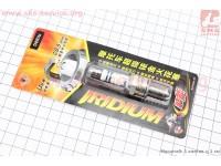 Свеча (мото 4х такт. Китай) D8RIU - иридиевая [TORCH]