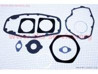 Прокладки двигателя к-кт 10шт (бумага, метал) МТ