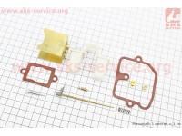 Ремонтный комплект карбюратора К65Т, 9 деталей+поплавок [Китай]