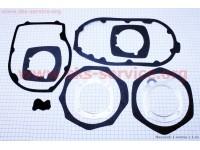 Прокладки двигателя к-кт 9шт УРАЛ, бумага+алюминий [Китай]