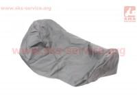 Чехол сиденья МТ (эластичный, прочный материал) черный