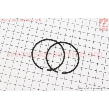 Кольца поршневые 4500 43х1,2мм [NOKER]
