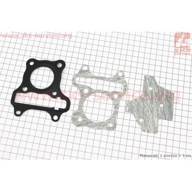 Прокладки поршневой к-кт Suzuki LETS, Тайвань 4T [MSU]