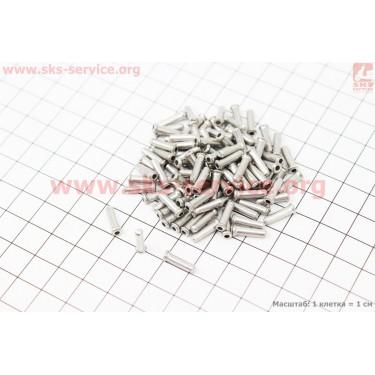 Концевик троса (с юбкой) 100 шт. к-кт CP-33 [Китай]