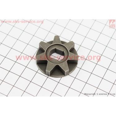 Звезда цепи 3/8-7 (D=35мм, d=9/12мм, H=8,5mm) [Китай]