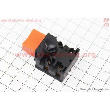 Кнопка-выключатель с фиксатором Тип №4 [Китай]
