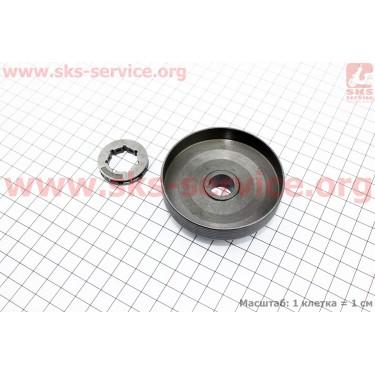 Тарелка сцепления + звезда 325-7 4500/5200 [Китай]