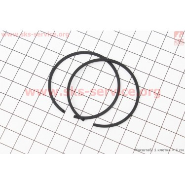 Кольца поршневые 5200 45х1,2мм [WOODMAN]