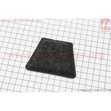 Фильтр воздушный - элемент (войлок) 350/351/352/370/371/420 [Китай]