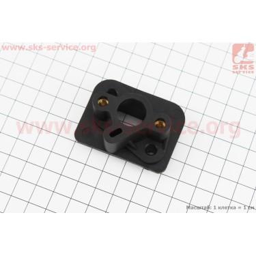 Патрубок карбюратора текстолитовый (большое отверстие) 1E40F-1E44F [Китай]