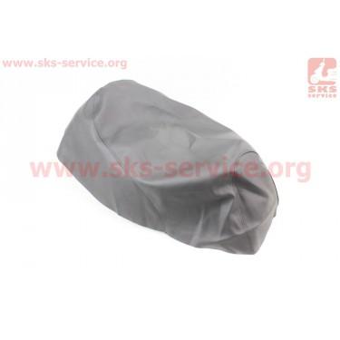 Чехол сидения Honda DIO TACT AF51 (эластичный, прочный материал) черный [Украина]