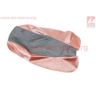 Чехол сиденья (эластичный, прочный материал) черный/коричневый [Украина]