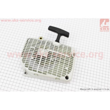 Стартер в сборе (две собачки) MS-650/660/066 [Китай]