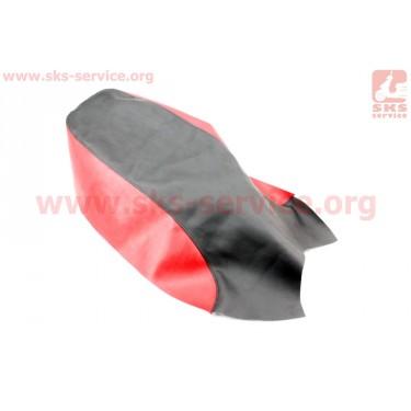 Чехол сиденья (эластичный, прочный материал) черный/красный [Украина]