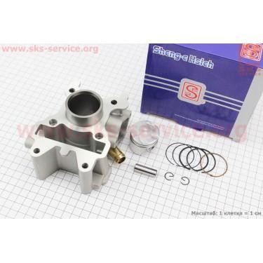 Цилиндр к-кт (цпг) Yamaha SA36J/VINO/GEAR 4T 49cc-38мм (палец 10мм) водяное охлаждение [SEE]