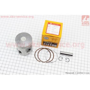 Поршень, кольца, палец к-кт Yamaha AXIS-90 50мм +0,50 (палец 12мм) [VLAND]
