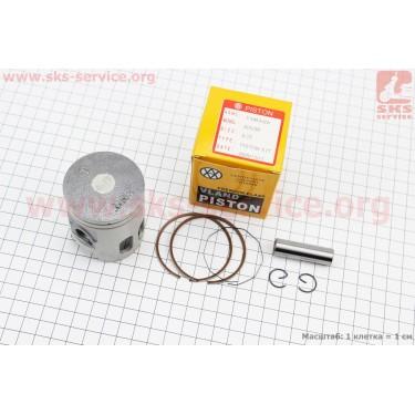 Поршень, кольца, палец к-кт Yamaha AXIS-90 50мм +0,75 (палец 12мм) [VLAND]