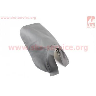 Чехол сидения переднего (эластичный, прочный материал) черный [Украина]