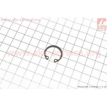 Стопорное кольцо поршневого пальца Ø20мм 188F/190F [Китай]